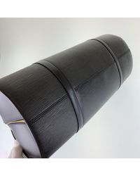 Borsa a mano in pelle nero di Louis Vuitton in Black
