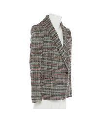 Étoile Isabel Marant Gray Grey Cotton Jacket