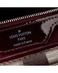 Louis Vuitton Purple Leder Cross Body Tashe