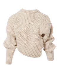 Pull-over en laine Isabel Marant en coloris Natural