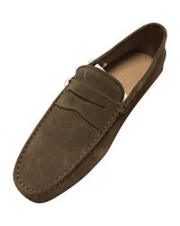 Tod's Natural Pre-owned Flats for men