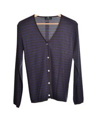 Etro - Pre-owned Blue Cotton Knitwear for Men - Lyst