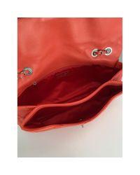 Bolso de Cuero Chanel de color Red