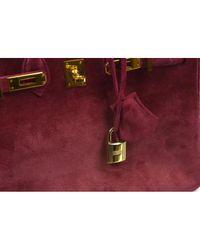 Hermès Purple Birkin 25 Handtaschen