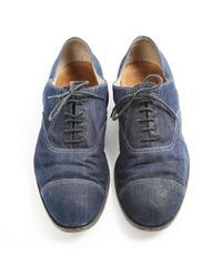 Bottega Veneta Blue Denim - Jeans Lace Ups for men