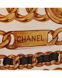 Pañuelo de Seda Chanel de color Multicolor