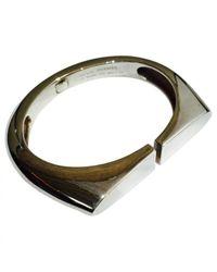 Hermès Metallic Pre-owned Silver Bracelet