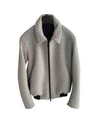 Jil Sander Gray Grey Cashmere Jacket for men