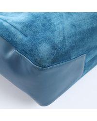 Roger Vivier Blue Leder Handtaschen