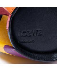 Loewe Blue Animals Leder Cross Body Tashe
