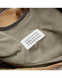 Bolsa de mano en cuero beige Maison Margiela de color Natural