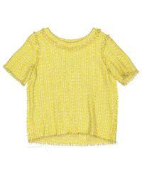 Top \N en Coton Jaune Lanvin en coloris Yellow