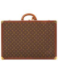 Sac de voyage en toile Louis Vuitton en coloris Brown