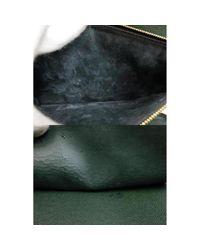 Louis Vuitton Green Leder Reisetaschen
