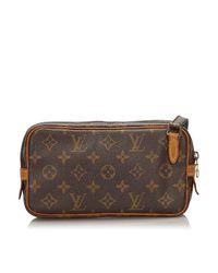 Louis Vuitton Brown Marly Handtaschen
