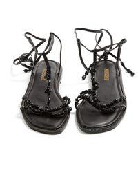 Missoni \n Black Leather Flat