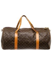Louis Vuitton - Brown Cloth 48h Bag - Lyst