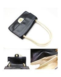 Chanel Black Timeless/classique Leder Handtaschen