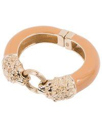 Chanel - Natural Beige Metal Bracelet - Lyst