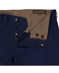 Louis Vuitton Hosen in Blue für Herren