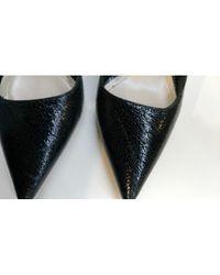 Scarpe col tacco in pelle nero di Dior in Black