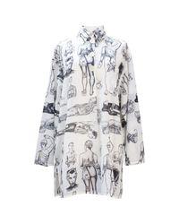 Jean Paul Gaultier Multicolor Hemd