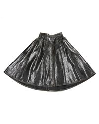 Miu Miu \n Black Cotton Skirt