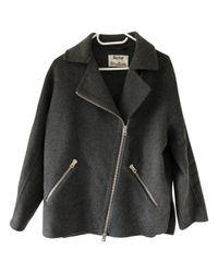 Acne Black Wool Jacket