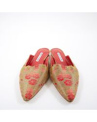 Sandales Manolo Blahnik en coloris Multicolor