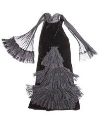 Jean Paul Gaultier \n Black Silk Dress
