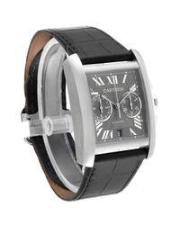 Cartier Tank Mc Uhren in Gray für Herren