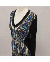 Roberto Cavalli Multicolor \n Multicolour Viscose Dress