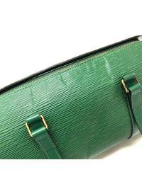Louis Vuitton Green Soufflot Leder Handtaschen