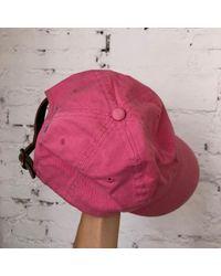 Polo Ralph Lauren Multicolor Pink Cotton Hat