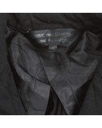 Comme des Garçons Black Polyester Jacket