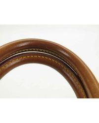 Louis Vuitton Speedy Brown Cloth Handbag