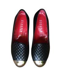 Claudie Pierlot Black Leather Flats