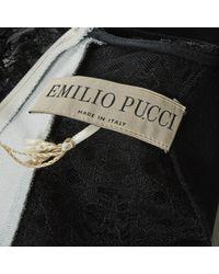 Emilio Pucci \n White Viscose Dress
