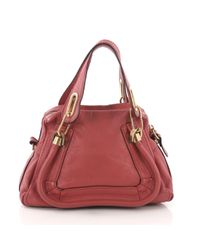 Chloé Paraty Pink Leather Handbag