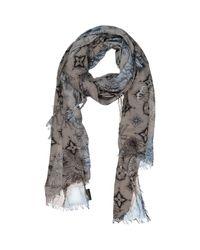 Louis Vuitton - Gray Echarpe for Men - Lyst