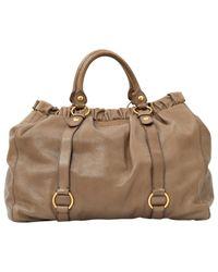 Miu Miu - Multicolor Vitello Leather Handbag - Lyst