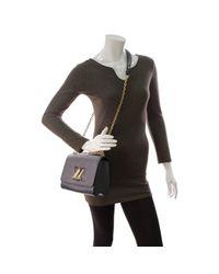 Louis Vuitton Blue Twist Leder Handtaschen