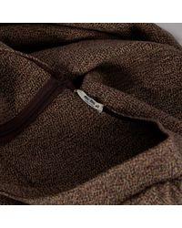 Robe en Laine Marron Miu Miu en coloris Brown
