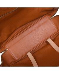 Hermès Brown Leder Reisetaschen