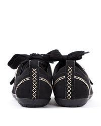 Scarpe da ginnastica in tela nero di Dior in Black