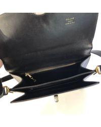 Bolsa de mano en cuero negro \N Céline de color Black
