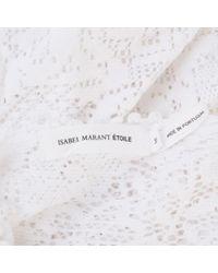 Étoile Isabel Marant White Viscose Top