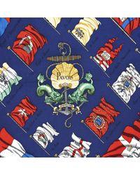 Chèches.Echarpes en Soie Marine Hermès pour homme en coloris Blue