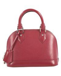 Louis Vuitton Red Leder Handtaschen