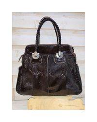 Chloé Brown Bay Leder Handtaschen